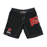 FAIRTEX - Black MMA/Board Shorts (AB1)
