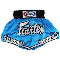 FAIRTEX - Blue Thai Flame Muay Thai Boxing Shorts (BS0631)