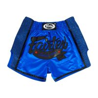 FAIRTEX Royal Blue Slim Cut Muay Thai Boxing Shorts (BS1702)
