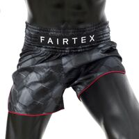 "FAIRTEX - ""Stealth"" Black Muay Thai Shorts (BS1901)"