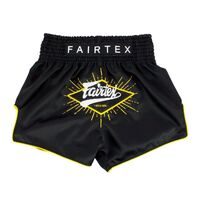 "FAIRTEX - ""Focus"" Black Muay Thai Shorts (BS1903)"