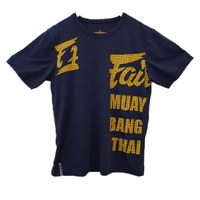 FAIRTEX - T Shirt - Muay Bang Thai - BLUE (TST119)